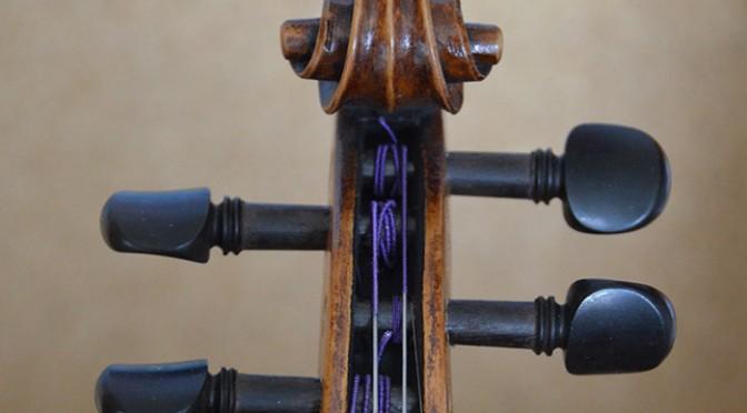 Improvisation pour un violon centenaire